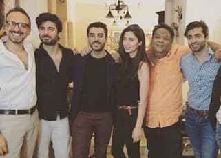 While Bollywood is missing Fawad Khan, he is chilling with Mahira Khan!