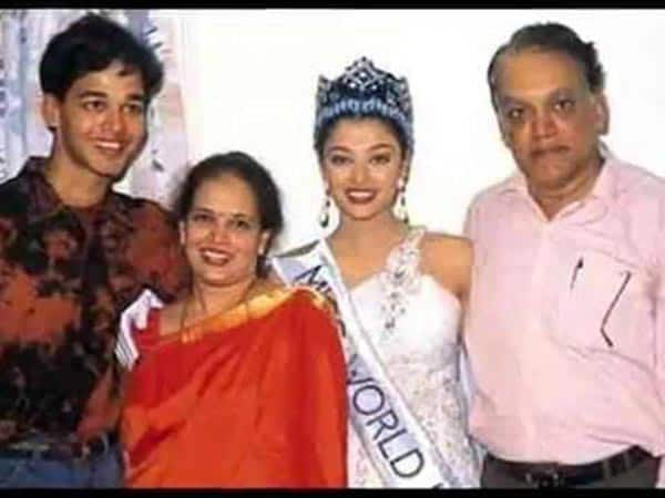 Image result for aishwarya with her father