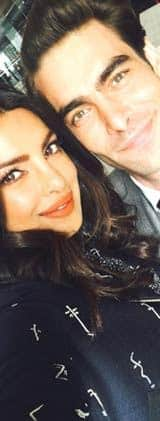 Who is this guy hanging out with Priyanka Chopra?