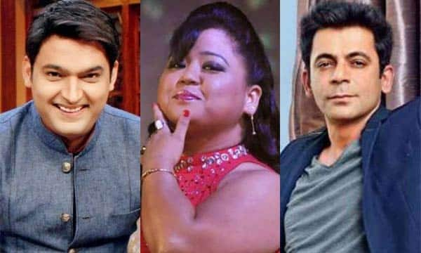 Bharti Singh REACTS to Kapil Sharma and Sunil Grover's nasty fight