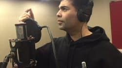 After being an actor, Karan Johar is now a singer too – view pic