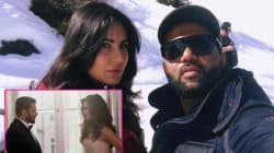 While Salman Khan shares a picture with Katrina Kaif, the actress chooses a selfie with the director instead