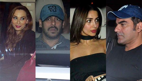 Salman, Iulia, Malaika, Arbaaz, Sonakshi, Karan attend Seema Khan's star studded birthday bash – view HQ pics