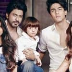 Shah Rukh Khan to give up smoking and drinking, and you have to thank AbRam, Aryan and Suhana for that