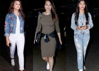 Sonakshi Sinha, Parineeti Chopra, Pooja Hegde - it's team denim vs bodycon dresses