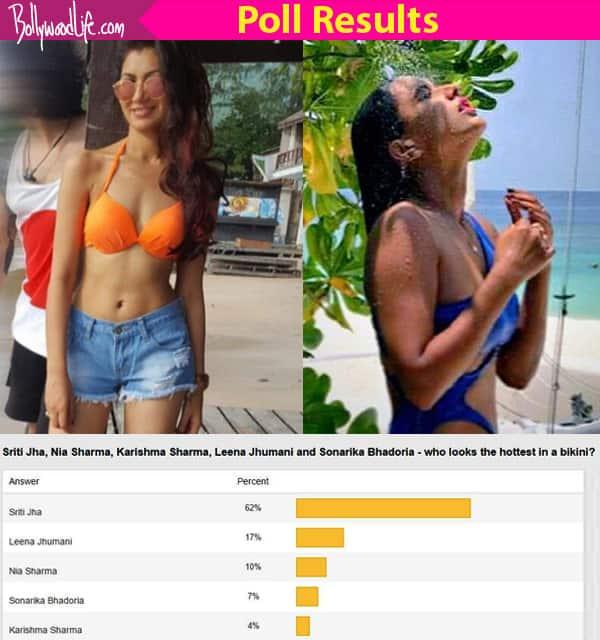 Sriti Jha BEATS Nia Sharma to become the hottest TV actress in a bikini