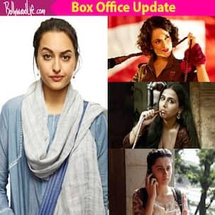 Sonakshi's Noor fails to beat Kangana's Rangoon, Vidya's Begum Jaan and Taapsee's Naam Shabana over the first weekend