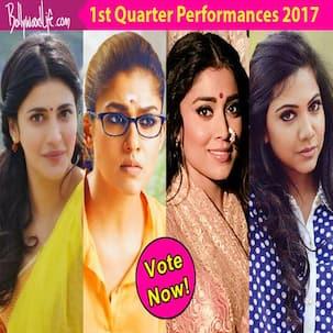 Shruti Haasan, Nayanthara, Shriya Saran, Madonna Sebastian: Who impressed you in the first quarter of 2017?