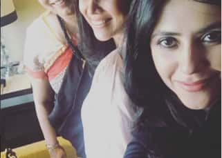 Ekta Kapoor, Smriti Irani and Sakshi Tanwar clicked together in one frame and it is making us very nostalgic