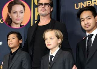 Angelina Jolie allows Brad Pitt to meet their 6 kids for the first time since seperation