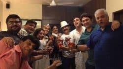 Sumeet Raghvan celebrates his birthday with his Sarabhai VS Sarabhai family