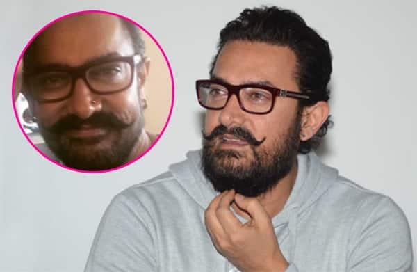 Did Aamir Khan just get his nose pierced?