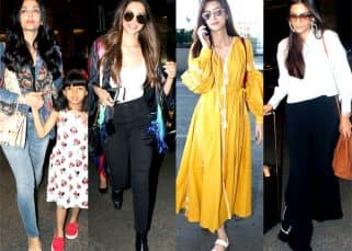 Airport Diaries: Deepika, Aishwarya, Sonam, and Kriti make a stylish splash on the runway with their cool travel wear - View Pics