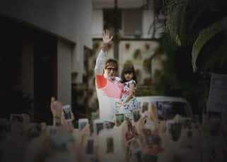 Is Aaradhya 'AFRAID' of grandpa Amitabh Bachchan's massive fan following? View pic