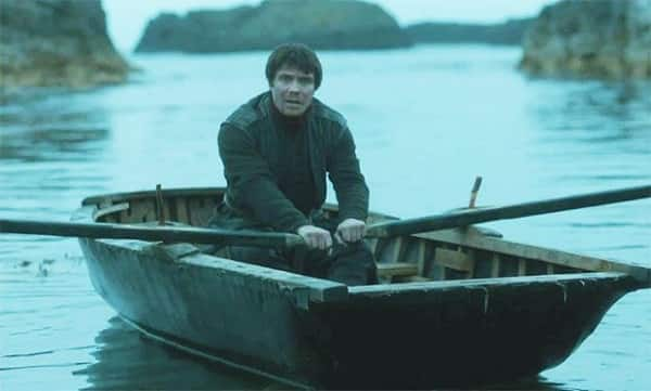 Gendry-in-a-boat