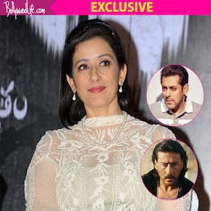 Jackie Shroff is hotter than Salman Khan, says Manisha Koirala - Watch exclusive video
