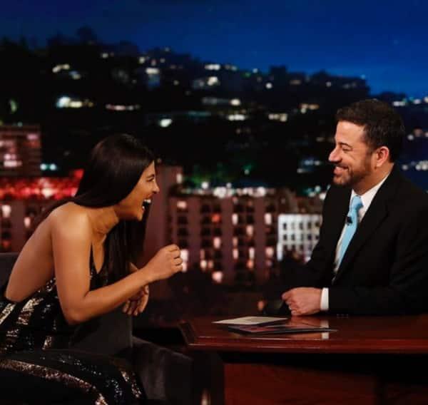 Priyanka Chopra on Jimmy Kimmel for Baywatch 3