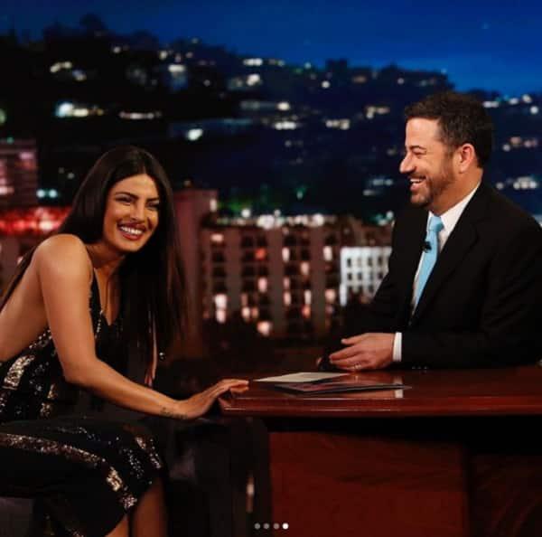 Priyanka Chopra on Jimmy Kimmel for Baywatch 4