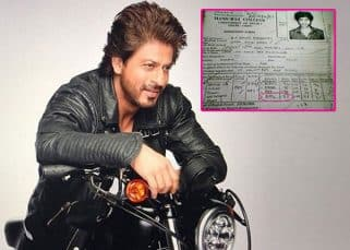 Shah Rukh Khan's LEAKED admission form has got students talking about his low grades
