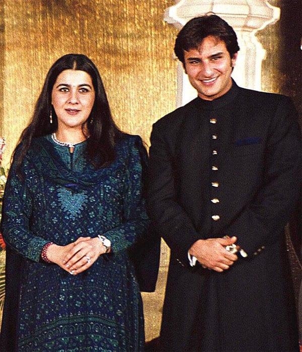 Saif Ali Khan - Amrita Singh