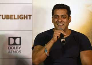 No mobile phone for Salman Khan when he takes the stage at Tubelight's trailer launch - watch video