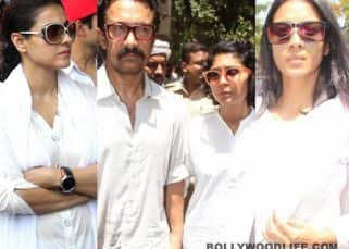 [PHOTOS] Reema Lagoo's funeral: Aamir Khan, Kajol, Barkha Bisht attend the veteran actress' last rites