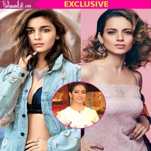 Manisha Koirala selects Alia Bhatt and Kangana Ranaut to play her onscreen in a biopic - Watch exclusive video