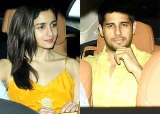 How cute! Alia Bhatt and Sidharth Malhotra are each other's sunshine - view HQ pics