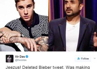 Vir Das takes a jibe at Justin Bieber over his concert demands but gets TROLLED instead
