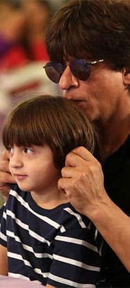 Shah Rukh-AbRam's latest pictures prove that they are the cutest father-son duo ever - view pics...