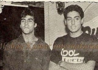 Abhishek Bachchan shares a 19-year old picture with Akshay Kumar proving that time indeed does fly