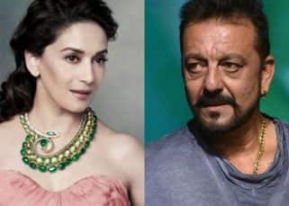 Defensive Madhuri Dixit labels her reference in Sanjay Dutt biopic REDUNDANT!