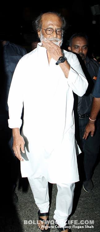 Rajinikanth arrives in Mumbai for Kaala Kalikaaran shoot – view HQ pics!
