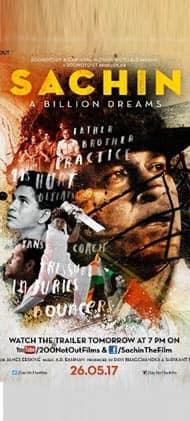 Movie This Week: Sachin A Billion Dreams