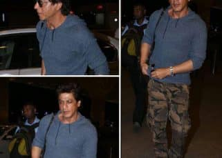 Shah Rukh Khan is looking super tired as he flies off to impress another city - view HQ pics