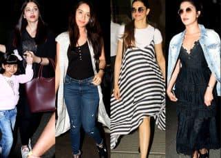 Airport Style this week: Priyanka Chopra, Deepika Padukone, Shraddha Kapoor, Aishwarya Rai Bachchan make us swoon with their stylish travel affairs in black