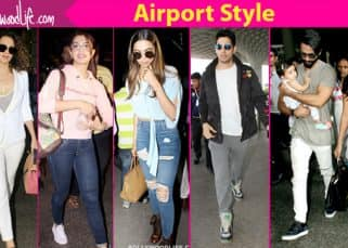 Airport Style this week: Mira Rajput makes a fashion faux pas but Deepika, Ranveer, Kangana, Jacqueline and Sidharth save the day!