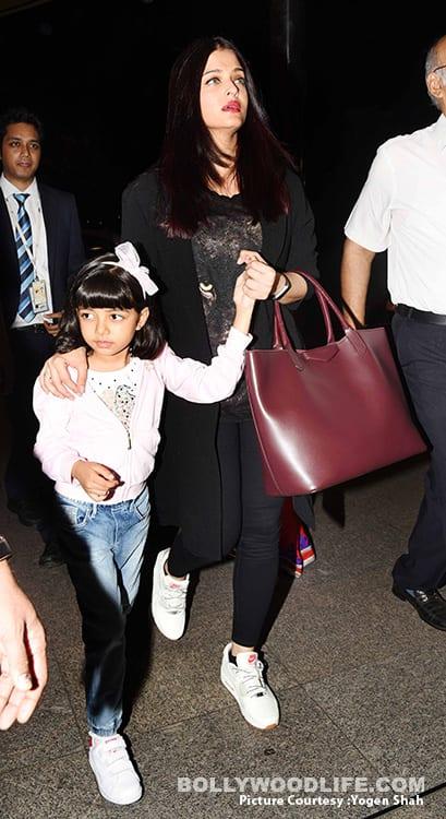 Aishwarya Rai Bachchan Airport Style