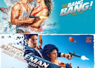 A Gentleman new poster: Despite not 'Reloading' 'it, Sidharth and Jacqueline give us a 'Bang Bang' deja vu