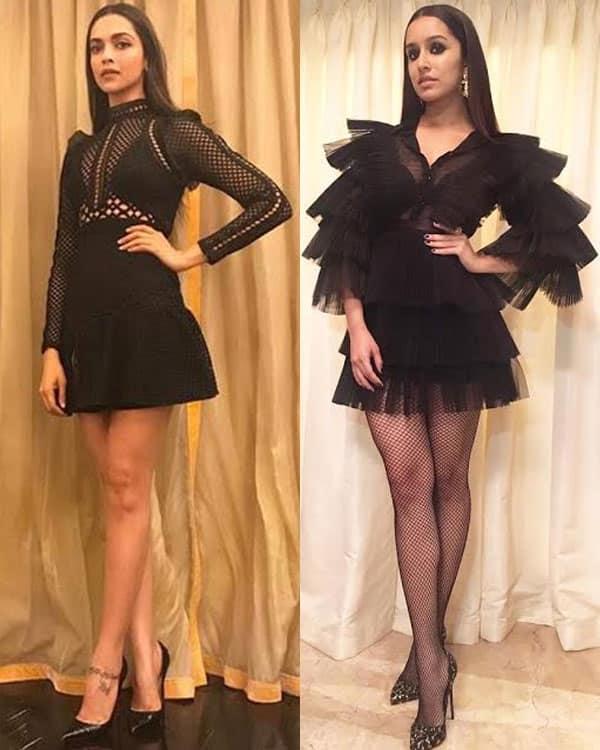 Deepika Padukone and Shraddha Kapoor styled by Shaleena Nathani