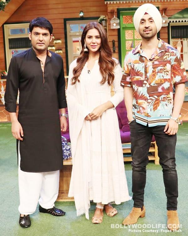 Diljit-Dosanjh-&-Sonam-Bajwa-promote-Super-Singh-on-The-Kapil-Sharma-Show-(2)