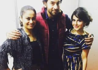Shashank Vyas catches up with Balika Vadhu co-star Toral Rasputra in Indonesia - view pic!