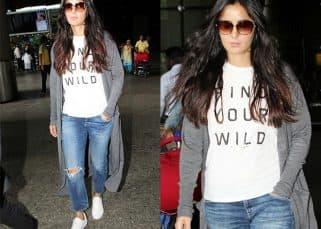 Katrina Kaif wears a t-shirt that says