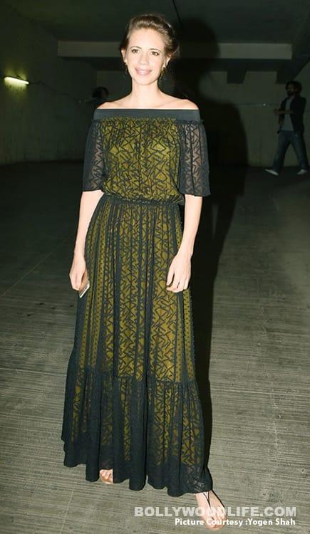 Kalki Koechlin in Shift by Nimish Shah maxi dress