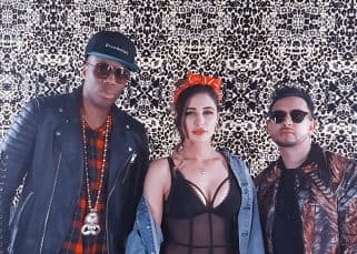 Nargis Fakhri collaborates with Canadian musician Kardinal Offishall for her singing debut