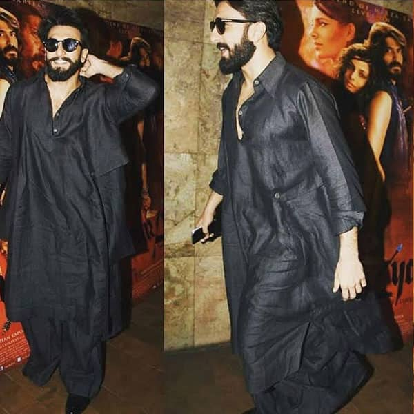 Ranveer Singh in Chola and Tom Ford