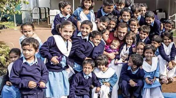 Salman Khan and kids
