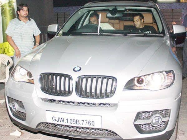 Salman-Khan-in-his-BMW-X5