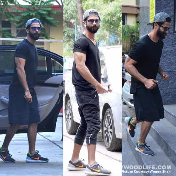 Shahid Kapoor Gym Style