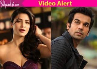 Exclusive! Rajkummar Rao UPSETS Shruti Haasan by not remembering her birthday - watch video